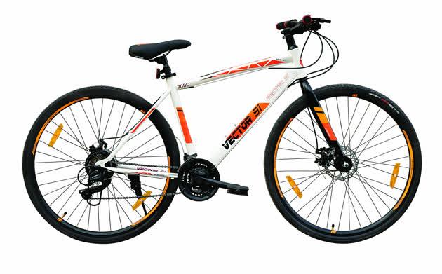 Wanderer Pro 700C (White Orange) image 1
