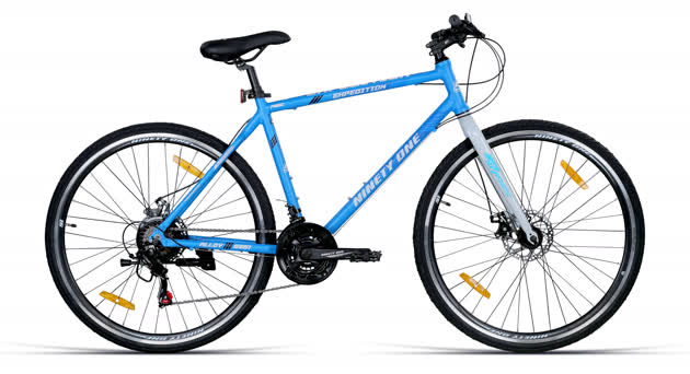 """Expedition 700C Blue White (18"""") image 1"""