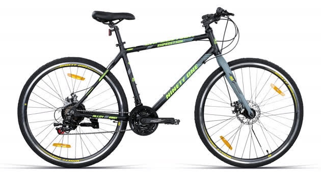 """Expedition 700C Black Green (19.5"""") image 1"""
