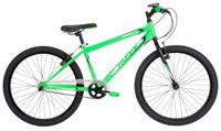 Granite 24 Boys Single Speed Green